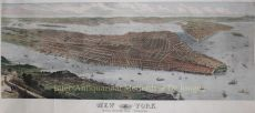 NEW YORK CITY in 1876, A BUSTLING PORT CITY IN THE YEAR OF AMERICA'S CENTENNIAL     by Sulman, Thomas (ca. 1834-1900)