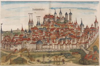 Nuremberg (Nürnberg)  by  Hartmann Schedel