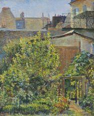 Jardin dans une banlieue à Paris by Frédéric Samuel Cordey