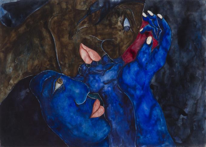 Amantes by Laura Hernandez
