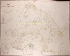 Wall map Drenthe  by  Anthony Wernecke