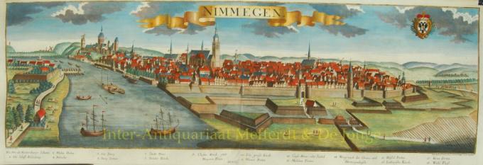 Nimmegen (Nijmegen) by Jeremias Wolff