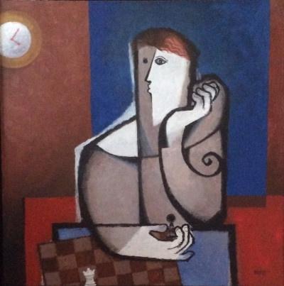 Echecs au petit Matin by Sami Briss