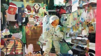 Coloured Theatre-An indoor carnival-no3 by Zhang Zhaoying