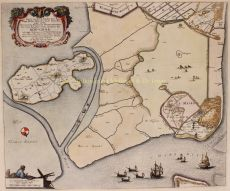 POLDERS IN DE KOP VAN NOORD-HOLLAND   by Blaeu, Joan