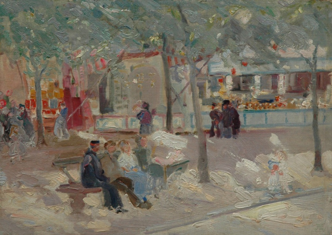A day at the fair by Marcel Jefferys