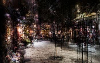 Little Shopping Street (Madrid) by Jack Marijnissen