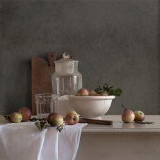 Stilleven met appels by Tineke Stoffels