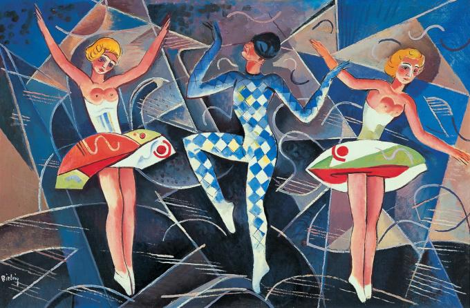 Paris Revue by Herman Bieling