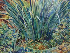 Rietplanten by Herman Bieling
