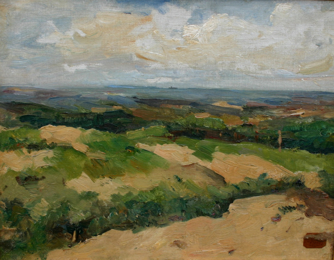 'Duinlandschap Ouddorp' by George Hendrik Breitner