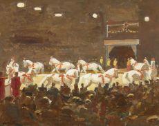 Circusdressuur in de piste by Kees Maks