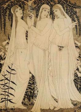 De drie prinsessen by Lodewijk Bruckman