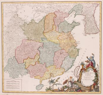 China  by  Robert de Vaugondy