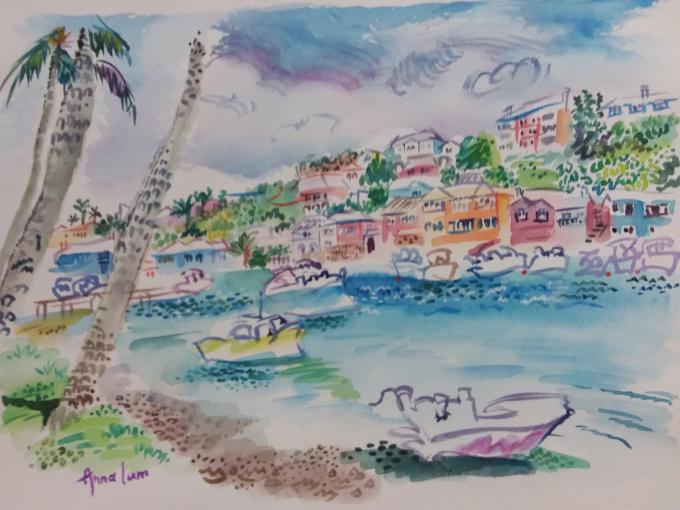 Secret Seaside  by Iam Anna