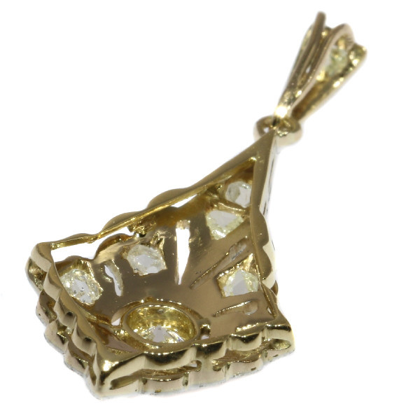 Diamond Art Deco pendant by Unknown Artist