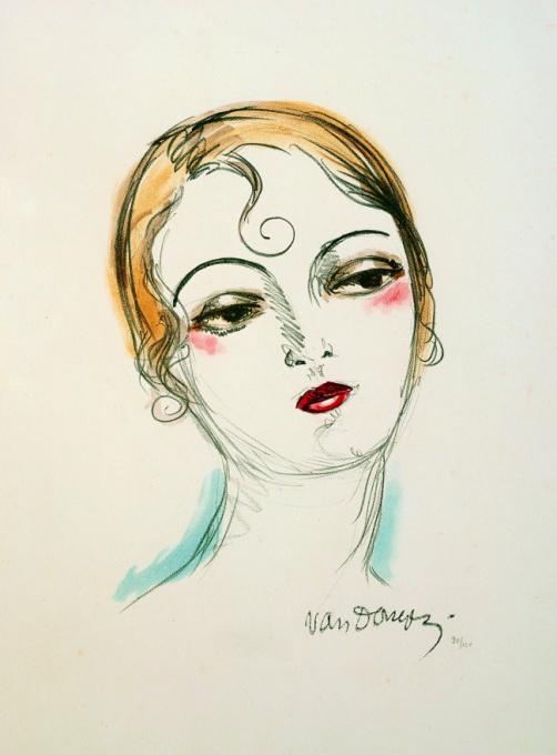 Madame X by Kees van Dongen