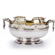 A Dutch silver sweetmeat basket by Unknown Artist