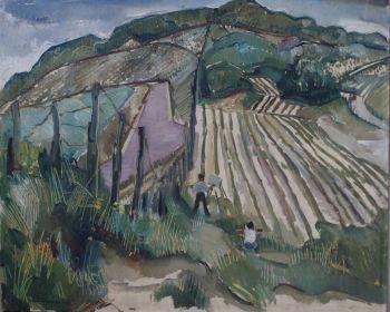 'Duinlandschap' by Paulus Franciscus Kromjong