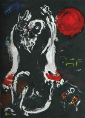 Isaie by Marc Chagall