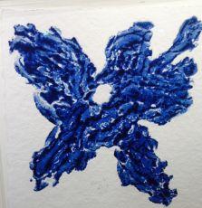 Blume Blau by Armando .