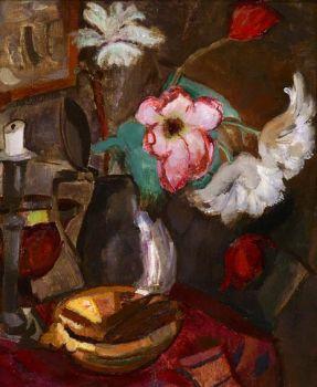 Still life with flowers by Jan Sluijters
