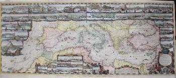Mediterranean Sea  by  Romeijn de Hooghe/  Pieter Mortier