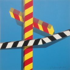 Sky Bars by Allan D'Arcangelo