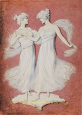 WEDGWOOD GIRLS  by M.S.M. (monogrammist)