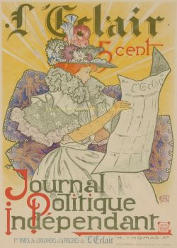 L'Eclair  by  Journal Politique Indépendant  Henry Atwell Thomas
