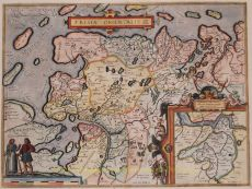 East-Friesland by Abraham Ortelius