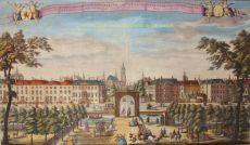 DEN HAAG VANAF HET MALIEVELD by Schenk, Leonardus