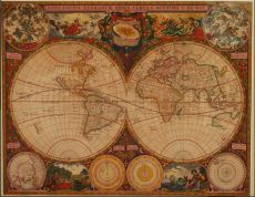 World Map - Frederick de Wit by Frederick de Wit