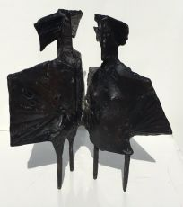 Winged figures by Lynn Chadwick