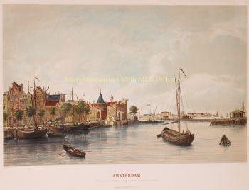 Amsterdam, Westerdok  by  Frans Buffa & Zn.