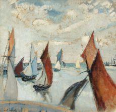 Regatta op het IJ by Willem Paerels