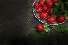 Still life radish by Mos Merab Samii