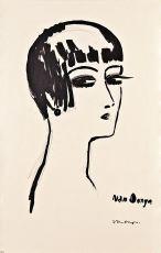 Short Hair by Kees van Dongen