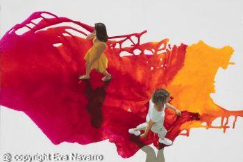 Peace in the storm Original  by Eva Navarro