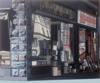 Urban Landscapes I, Nass Linoleum by Richard Estes