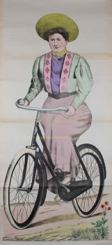 The cyclist  by  Ackermann/Burckhardt (Weissenburg)