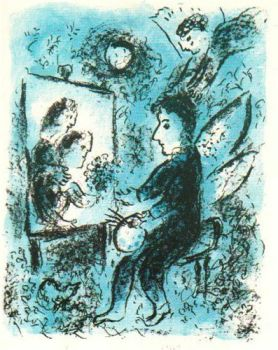 Towards another clarity by Marc Chagall