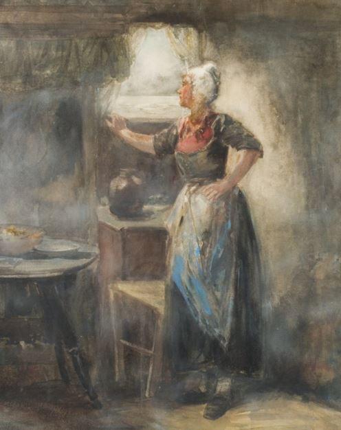 Fisher's Wife by Bernardus Johannes Blommers
