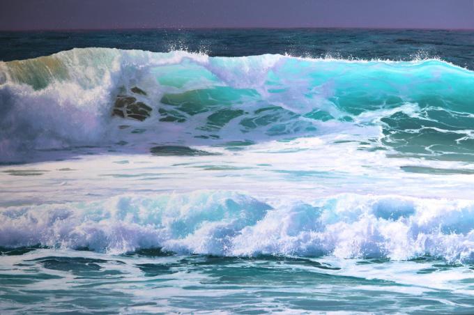 Light and Illusion  Original oil painting  100 x150cm y 2021 by Erika Toliusis