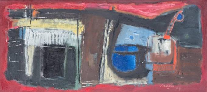 Abstraction I by Rinus van der Neut