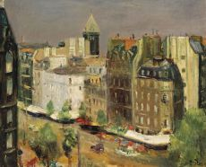 View from the artist's Studio by Henri Hayden