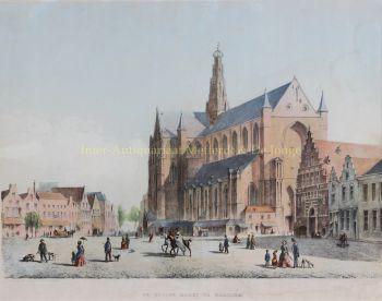 Haarlem, Grote Markt  by  A.K. de Koning