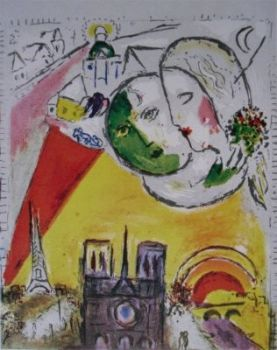 Sunday by Marc Chagall