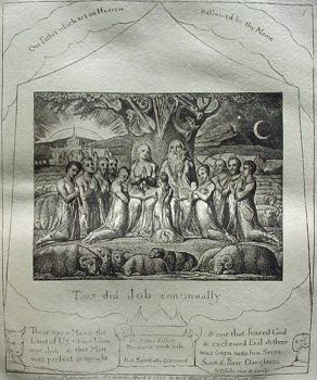 The book of Job by William Blake