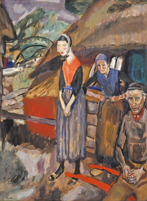 Staphorster familie by Jan Sluijters
